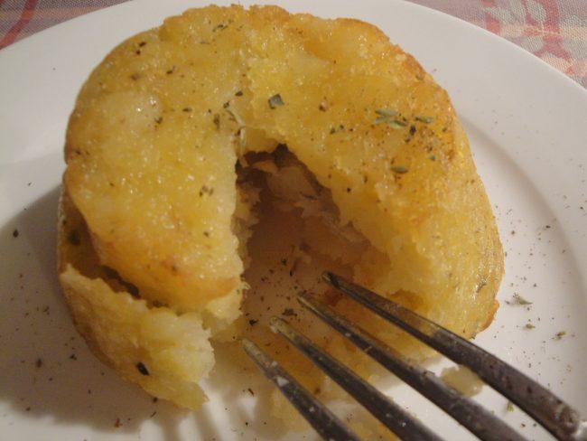 tortino patate e baccalà
