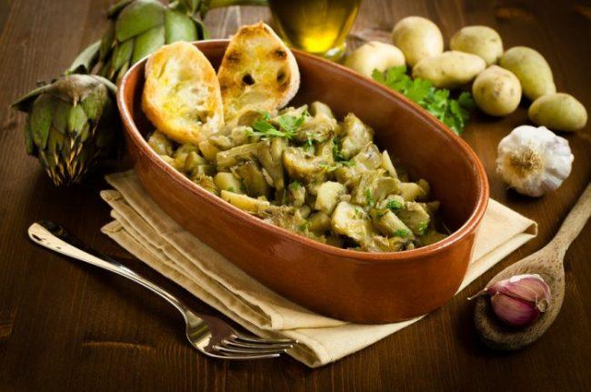 Carciofi e patate – il piatto che aiuta il fegato e i diabetici