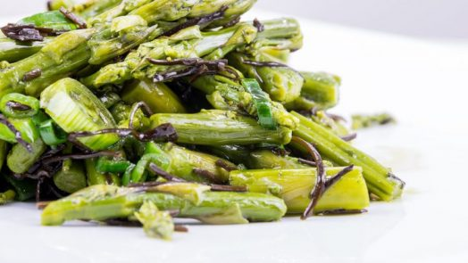 asparagi saltati in padella