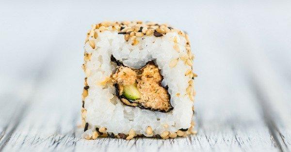 sushi per cena afrodisiaca