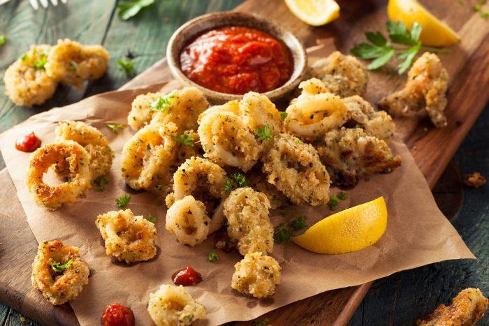 frittura di pesce - come fare la frittura salutare