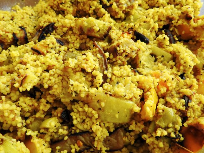 cous cous con il curry