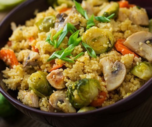 ricetta veloce con cous cous