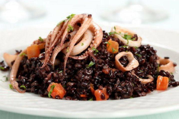 riso venere al sapore di mare